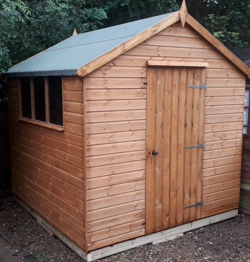 Shaws for Sheds 12mm Apex Garden Shed