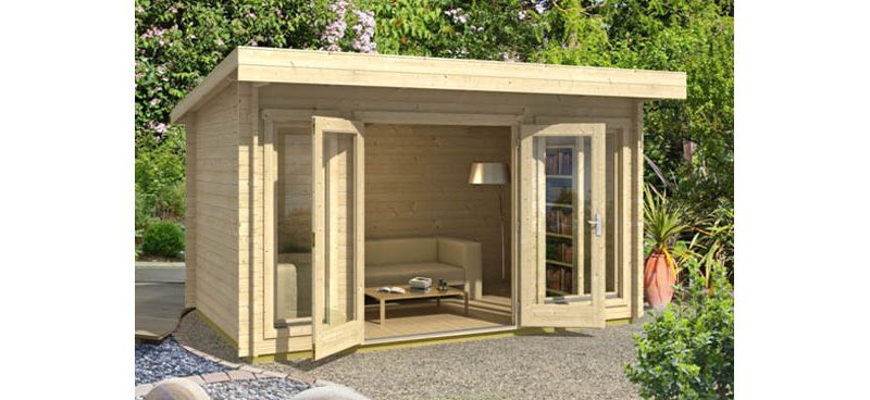 Derby 34 Log cabin delivered all over the UK from Barnsley
