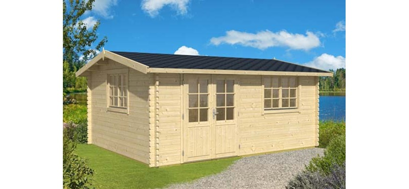 44mm log cabin nelson 54 Barnsley