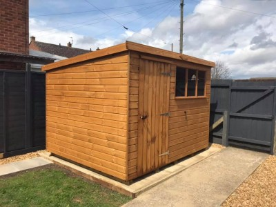 12mm Belton Pent Garden Building from Shaws for Sheds and Aardvark joinery