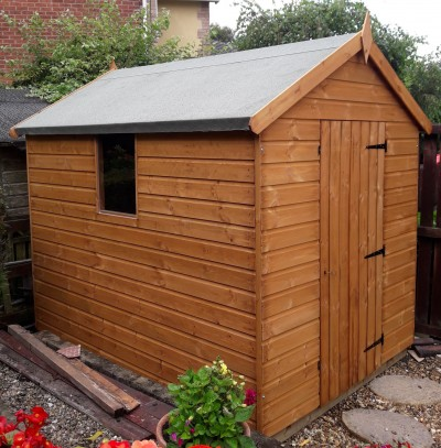 Mangham Apex Garden Shed 12mm