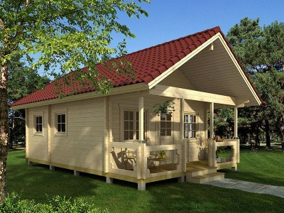 Residential cabins from Aardvark joinery