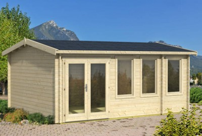 Allora log cabin from Aardvark joinery