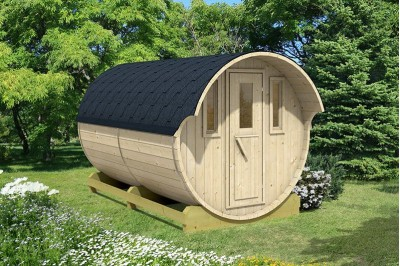 glamping barrel from aardvark joinery