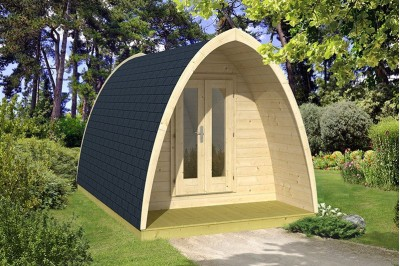 Multi room glamping pod