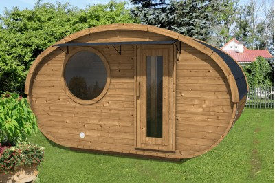 glamping room from Aardvark joinery