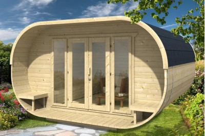 Summer room from aardvark joinery perfect for glamping