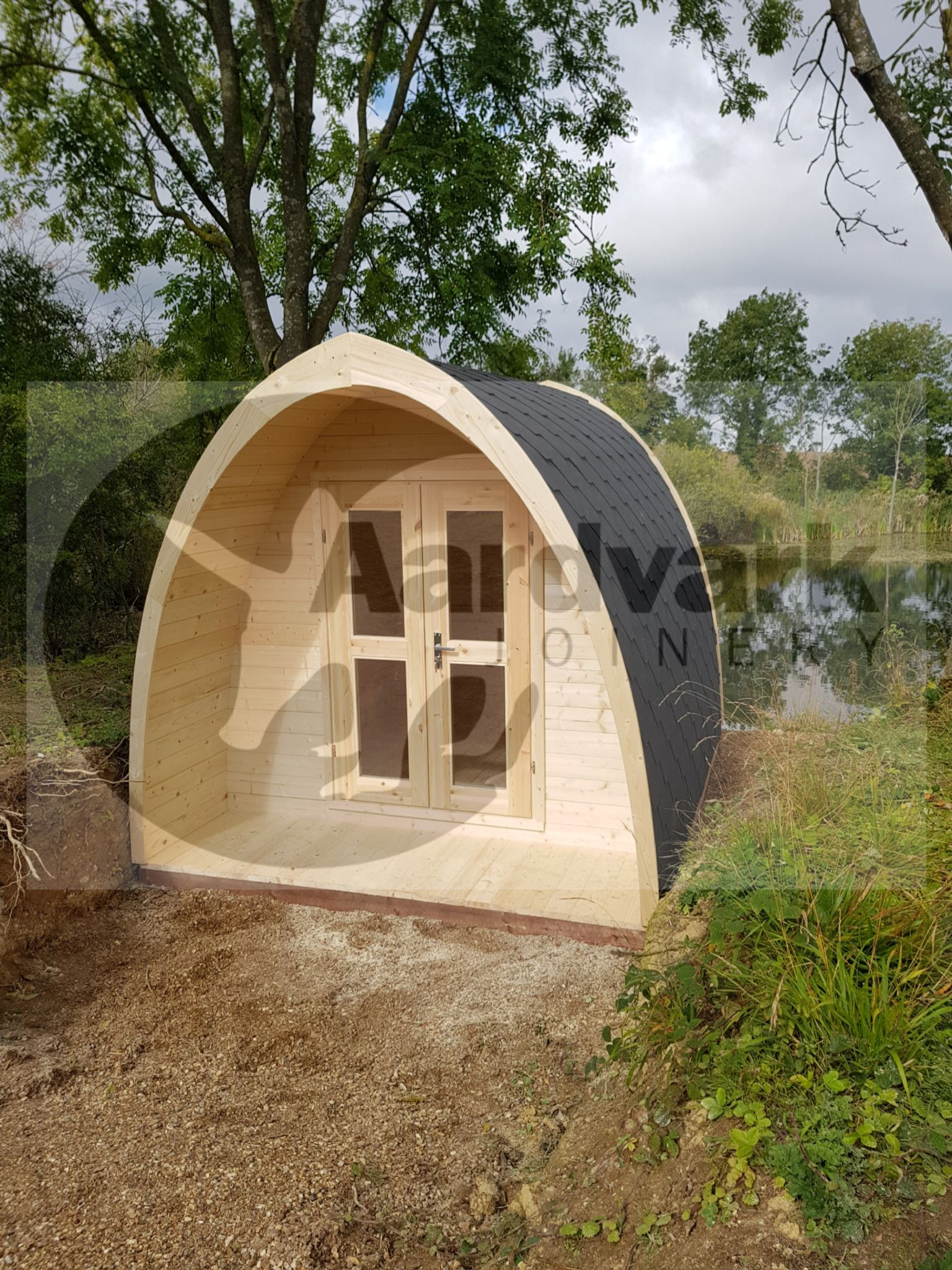 Camping pod perfect for glamping yorkshire
