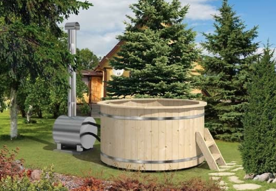 Hot tub 160 perfect for small gatherings