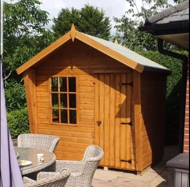 12mm multipurpose wing summer house
