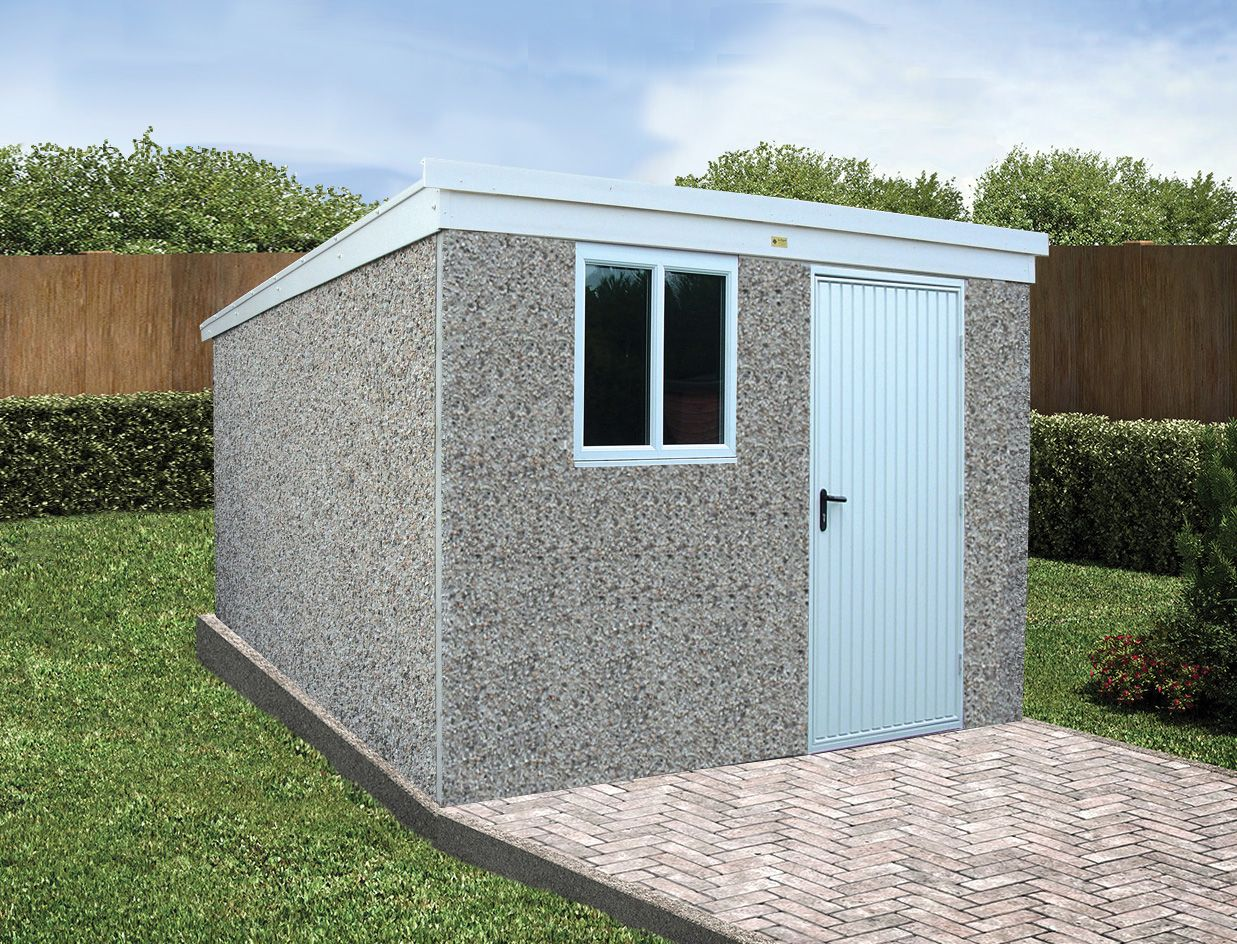 Deluxe pent Sheds